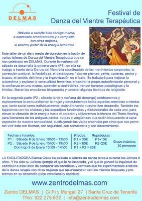 Festival de Danza del Vientre Terapéutica