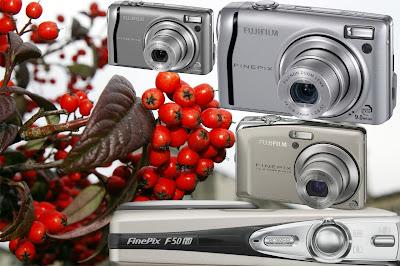 Fujifilm F50 vs F40