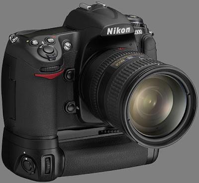 Nikon D300 front view