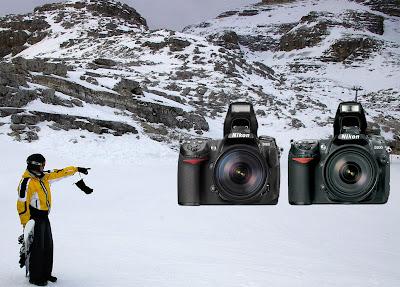 Nikon D300 vs. Nikon D200