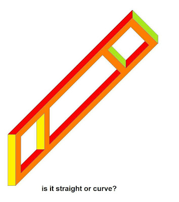 Curve or Straight? - Impossible Object