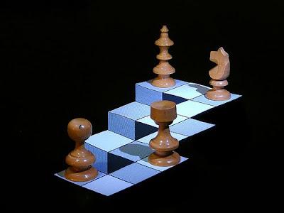 Escher Chessboard