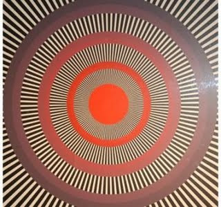 Bull's Eye Illusion