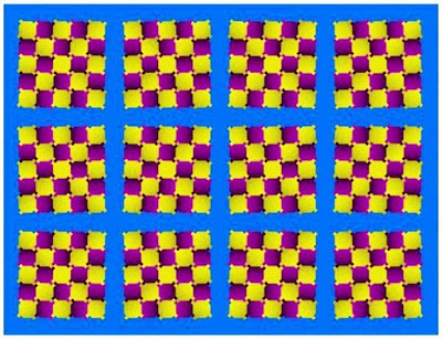 Floating Squares Illusion