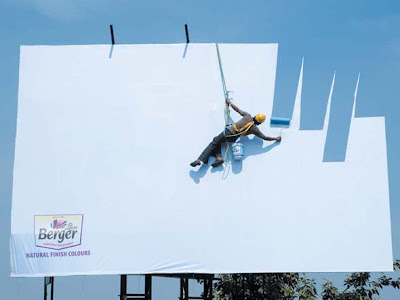 Berger Paint Billboard - Berger Paint Illusion