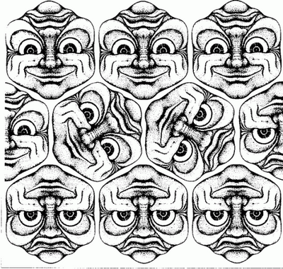 Rotating Face Illusion