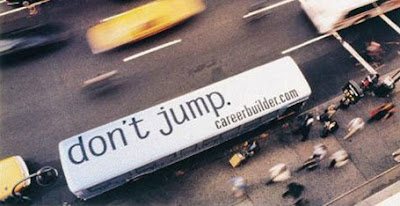 Don't Jump – Careerbuilder.com Advertisement