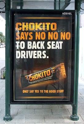 Chokito Says NO NO NO! Billboard