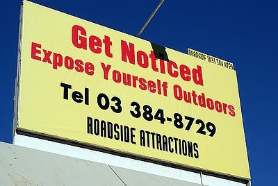 Expose Yourself Outdoors Billboard