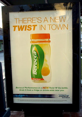 Twist and Go Berocca Billboard