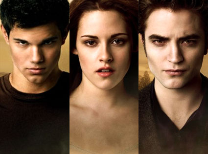 Twilight Interview: Robert Pattinson, Kristen Stewart & Taylor Lautner