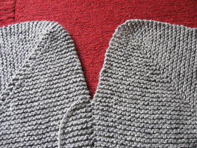 Trampled by Geese: How to use Mattress Stitch to sew together Garter Stitch f...