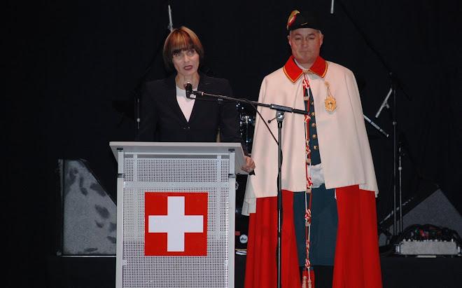LE PRESIDENT NOUVEAU A MARTIGNY le 13 DECEMBRE 2007