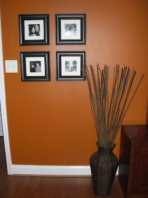 Burnt Orange Accent Wall Burnt Orange Accent Wall