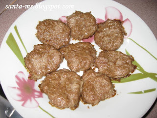 RECIPE DOG-FOOD RAW-FOOD BEEF