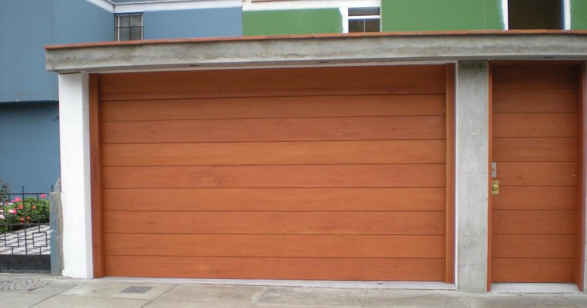 Peru door puertas automaticas de garaje a control remoto for Portones de garaje