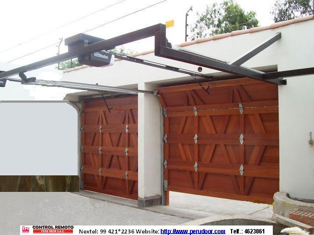 Peru door peru door puertas automaticas de garaje a - Puertas originales ...