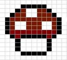 Mario Characters Stitch Patterns - Super Mario Bros. Fan Art