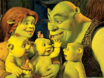 Because you don't want Shrek babies 