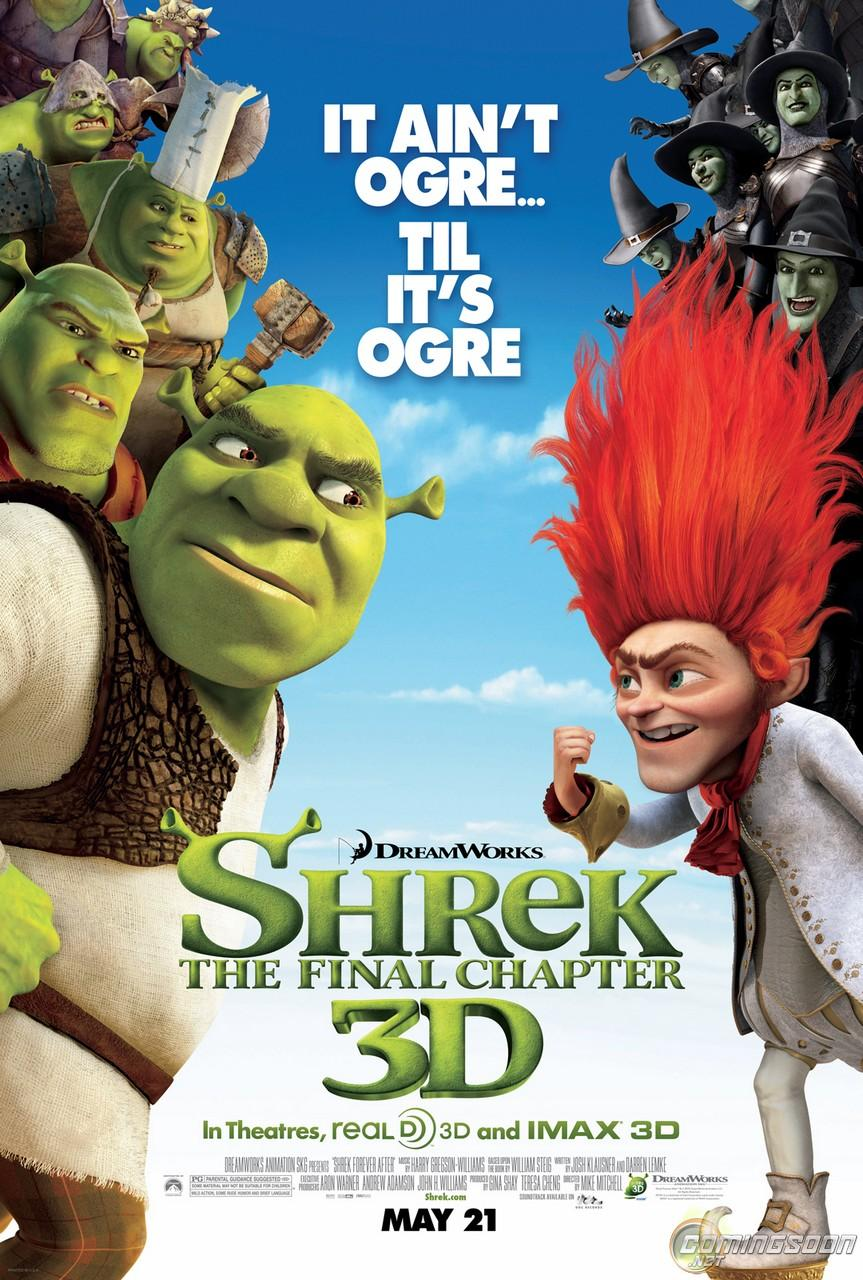 Shrek Forever After The Last Series Of Movie