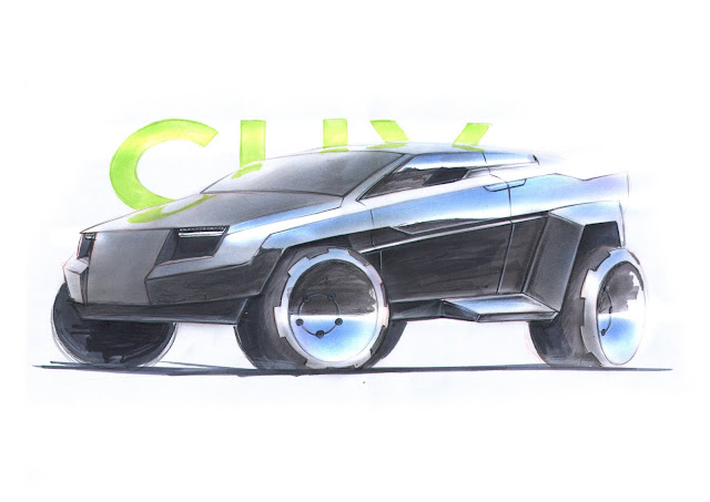 Black CUV