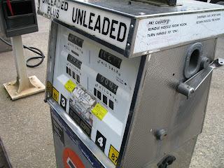 "Car Rental Astoria Oregon freakin' ""analog"" gas pump! wow! i hadn't seen one of those in years ..."