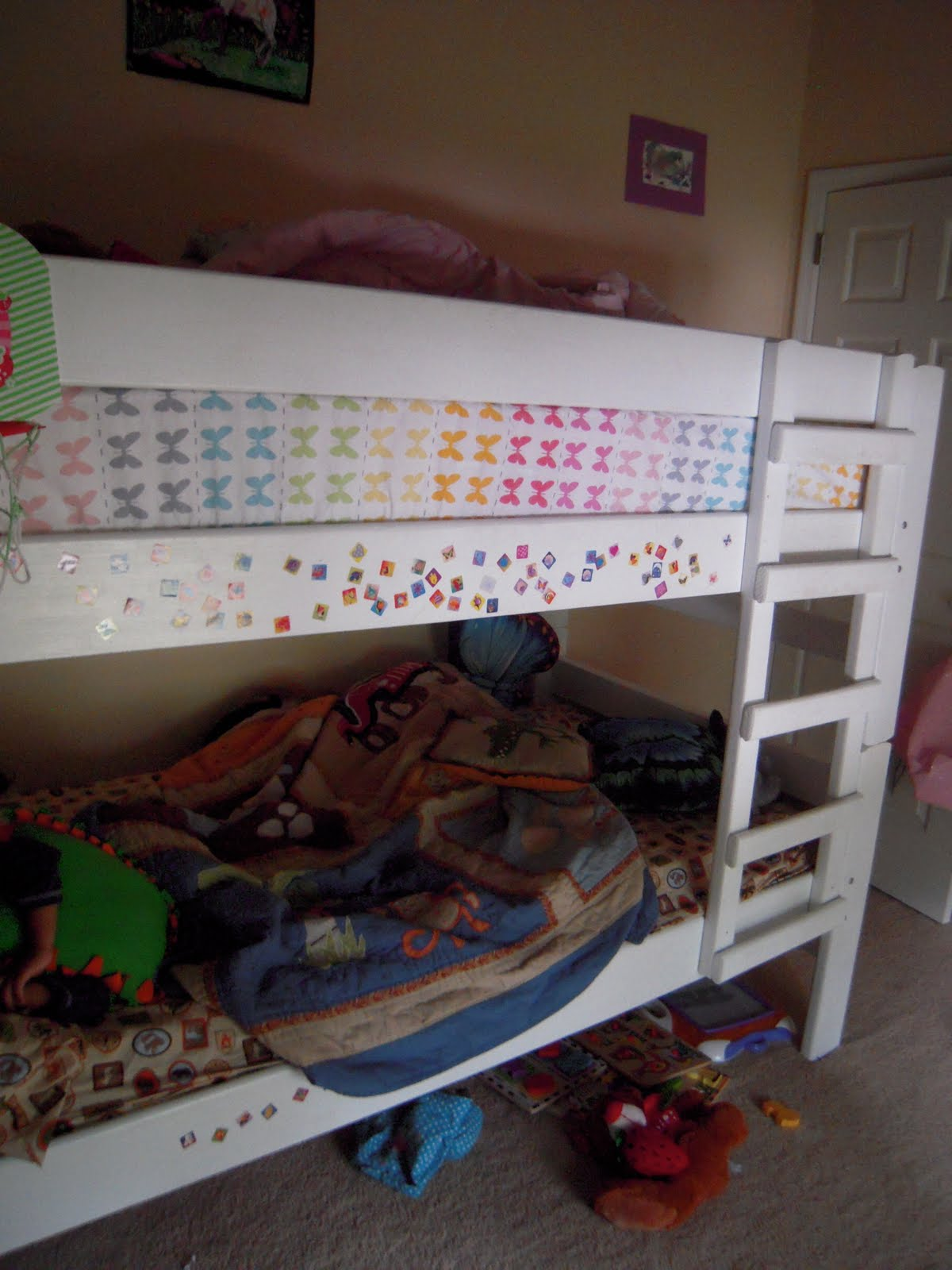 Perfect twin over twin bunk bed