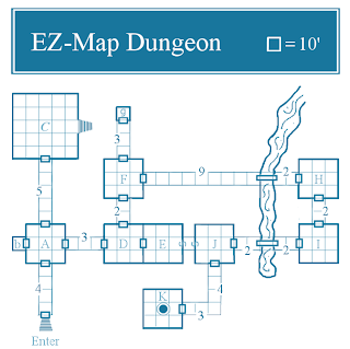 Room Mapper telecanter's receding rules: easy-map dungeon iv