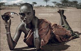 Campaña social: lujo vs. hambre