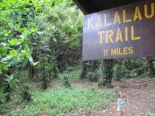 """""""Kalalau Trail 11 miles"""""""