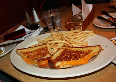 My Obsessive Personality — Cheesecake Factory: Grilled Cheese