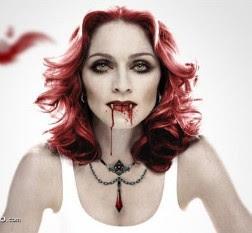 madonna vampira
