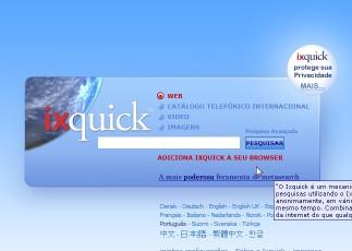 Ixquick, pesquise com privacidade