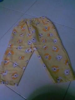 091017 141410 Membuat Celana Sederhana ( piyama)
