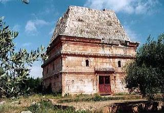 Pyramid tomb at al-Bara