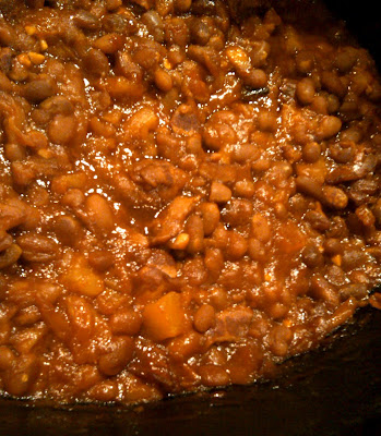Everyday Finesse: Crock Pot Baked Beans with Pineapple