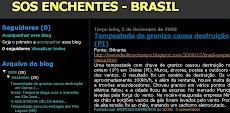 SOS ENCHENTES - BRASIL