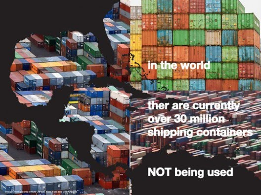 Cargotecture: Repurposing Shipping Containers