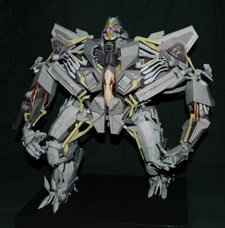 Transformers Starscream Papercraft
