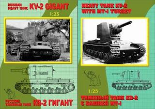 KV-2 tank papercraft