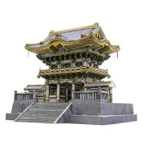 papercrafts from canon nikko toshogu is a shrine in nikko city tochigi