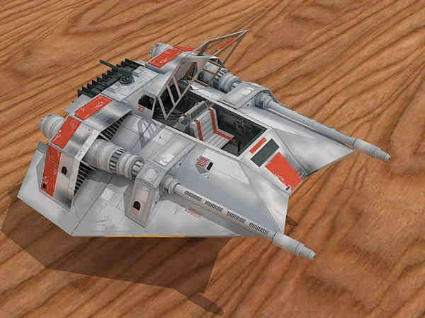 Free Papercraft And Paper Model  Star Wars  T