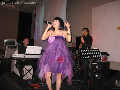 Suzan and Jason Geh Live Band performing at Mr Lai's 70th Birthday