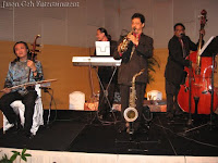 Jason Geh Live Band performing at the wedding reception