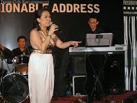 Jazz singer Rachel with Jason Geh on keyboards
