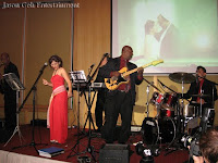 The Jazzz Band performing Live during the wedding reception