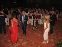 Guest at the event dancing to the beat of Jason Geh's Event Band
