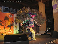 The peacock at the event