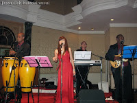 Wedding music band performing live