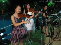 a guest band that performed at the wedding reception